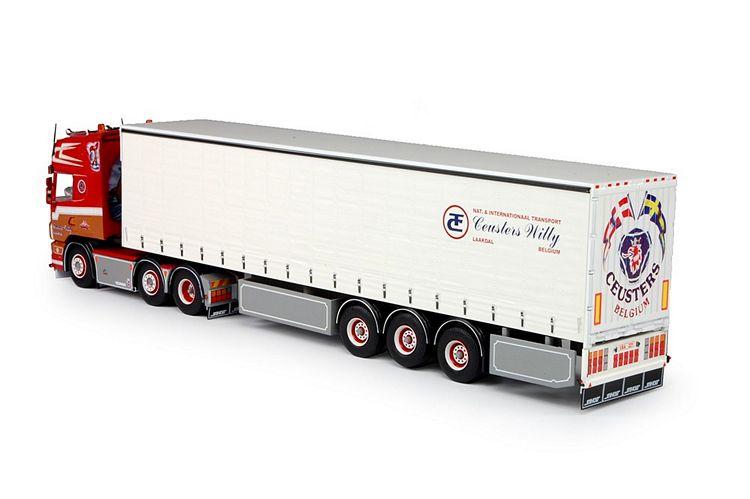 Scania 4 serie Topline Schiebeplanen Auflieger Ceusters Willy