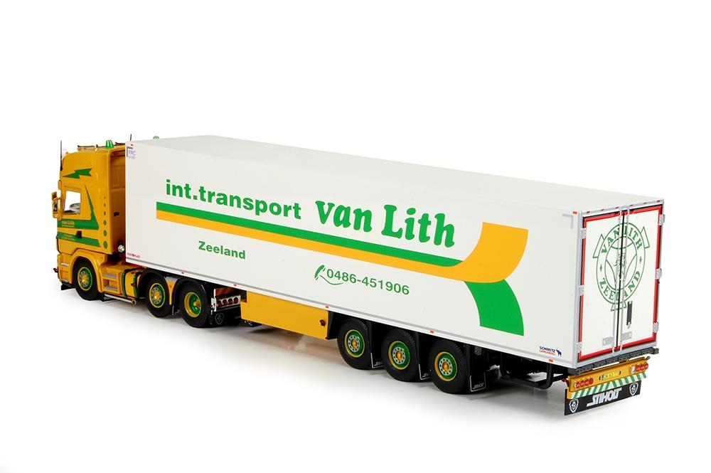Scania 4 serie Topline Schmitz kuehlauflieger Lith van
