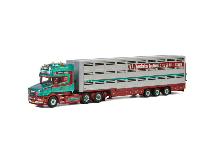 Scania 4 Series Torpedo  Live Stock Trailer  Truckstar