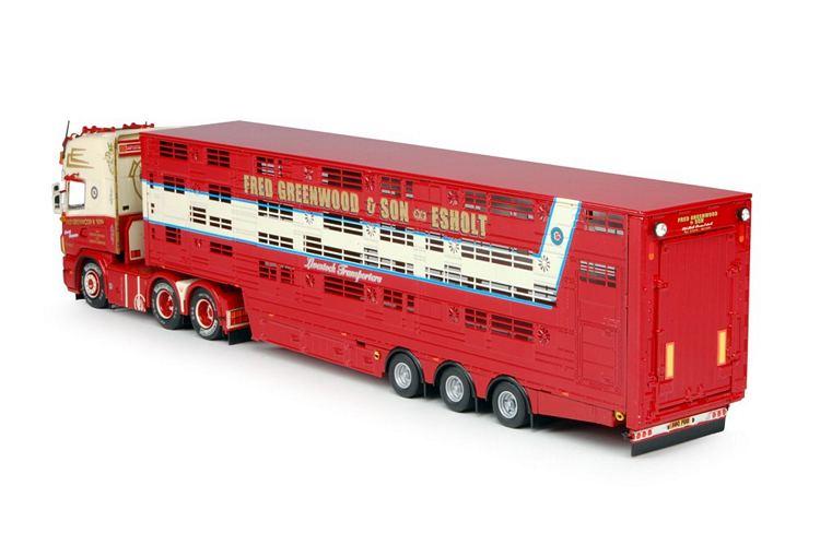 Scania 4 Topline Herde Auflieger Greenwood