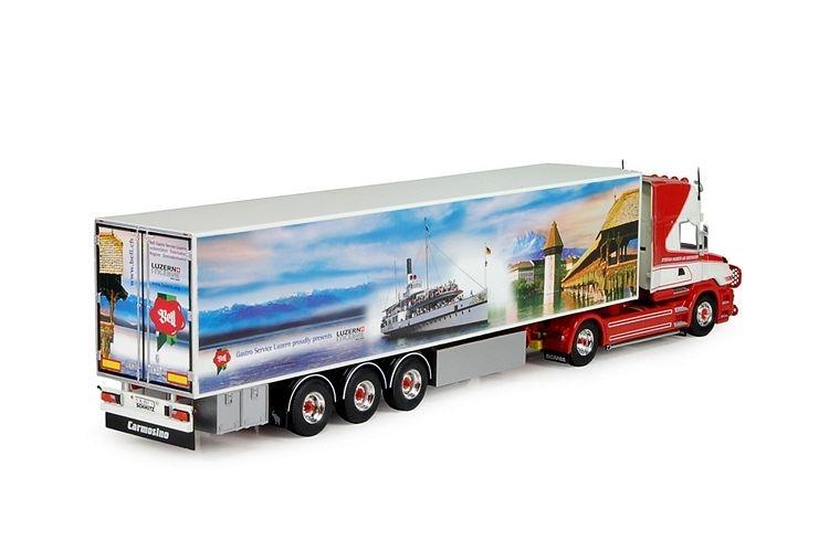 Scania 4 Torpedo Topline zamac Kuehlkoffer Huber Stefan
