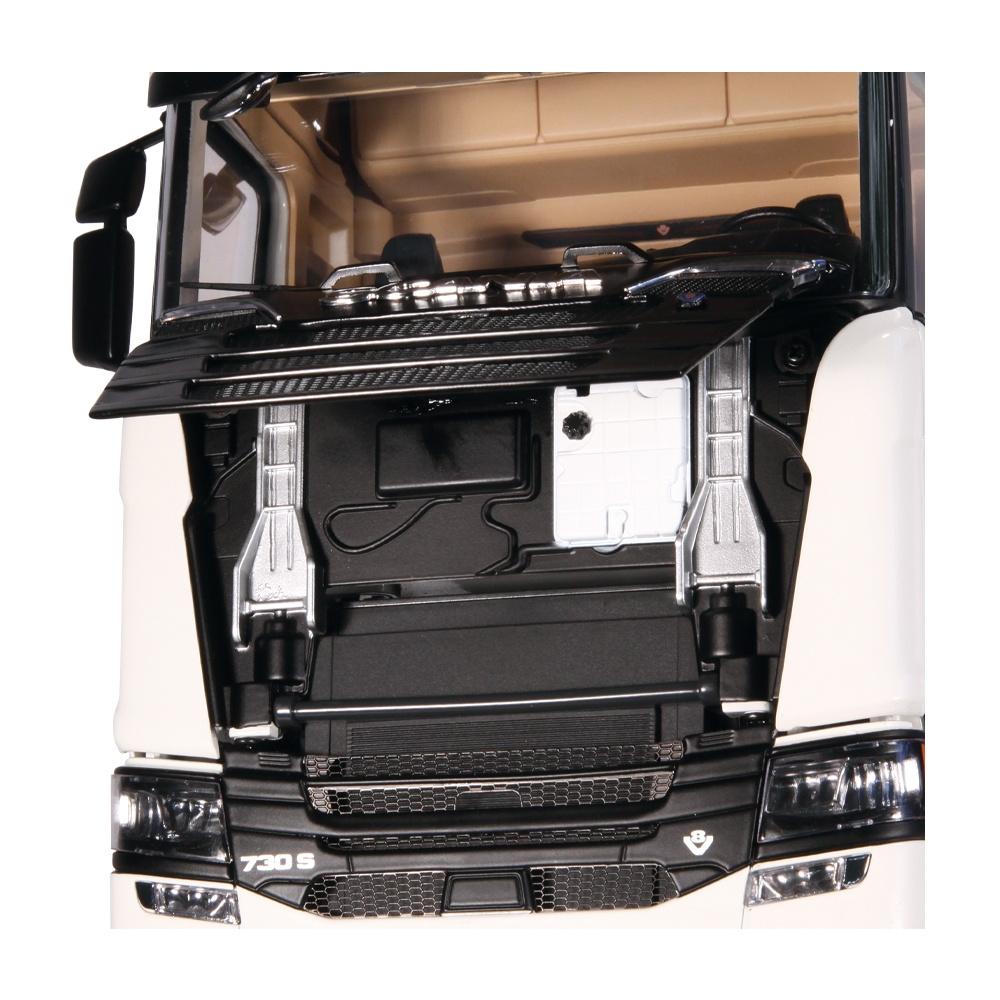 Scania 730S Zugmaschine weiß 1:18