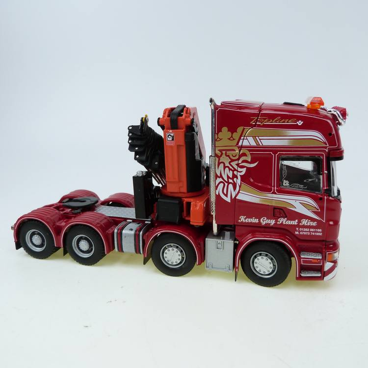 Scania 8X4 Hiab Kran TCC Kevin Guy