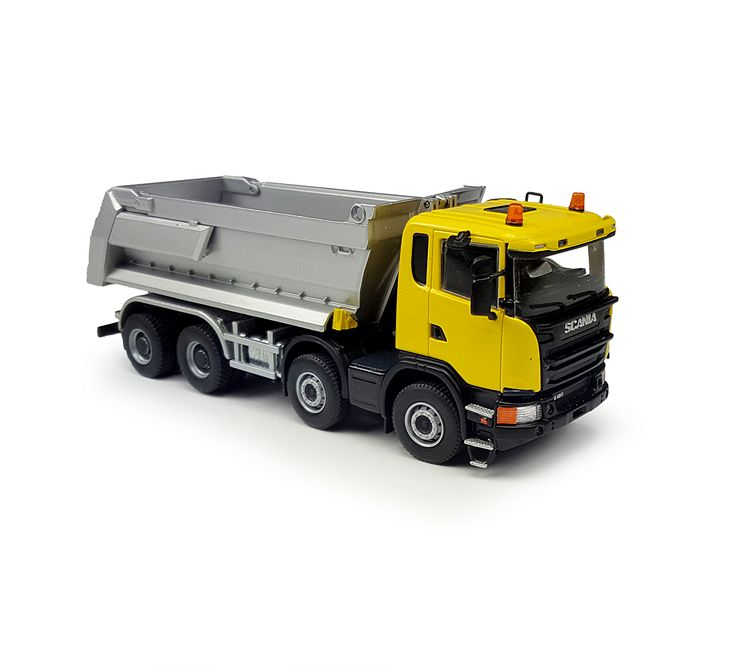 Scania 8x4 Tipper yellow