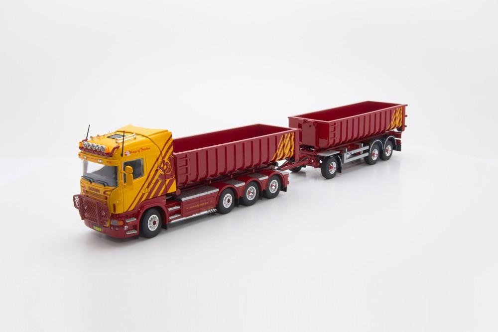 Scania Absetzkipper  VSB