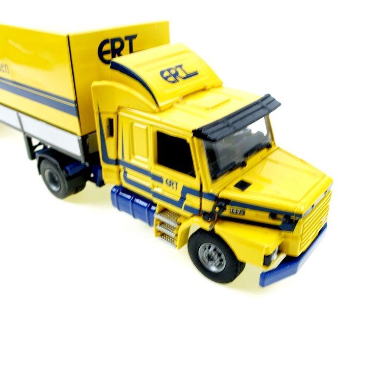 Scania ERT T 143M 2 as Trekker met 3 as Huifoplegger