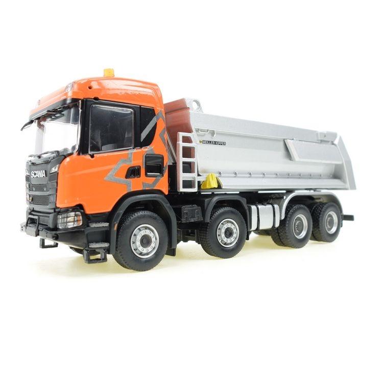 Scania G 450-Muldenkipper 8x4