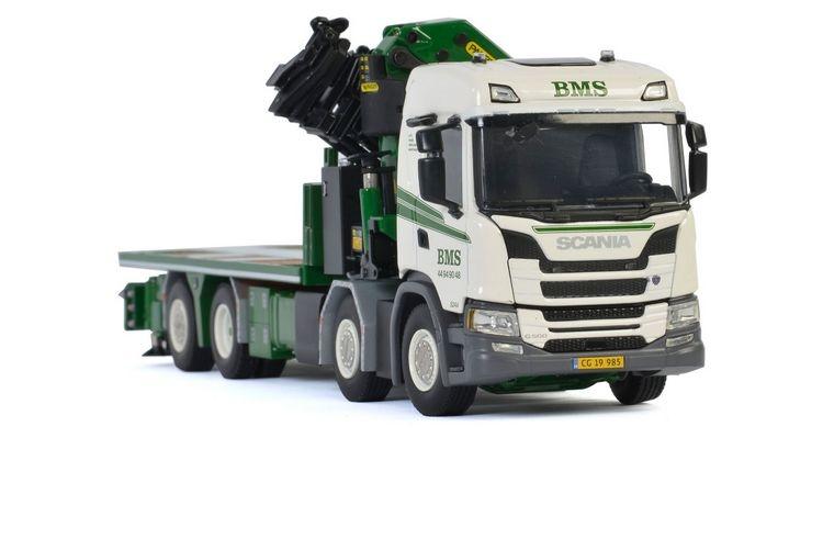 Scania G Normal CG17N  Palfinger PK 78002 SH BMS A/S