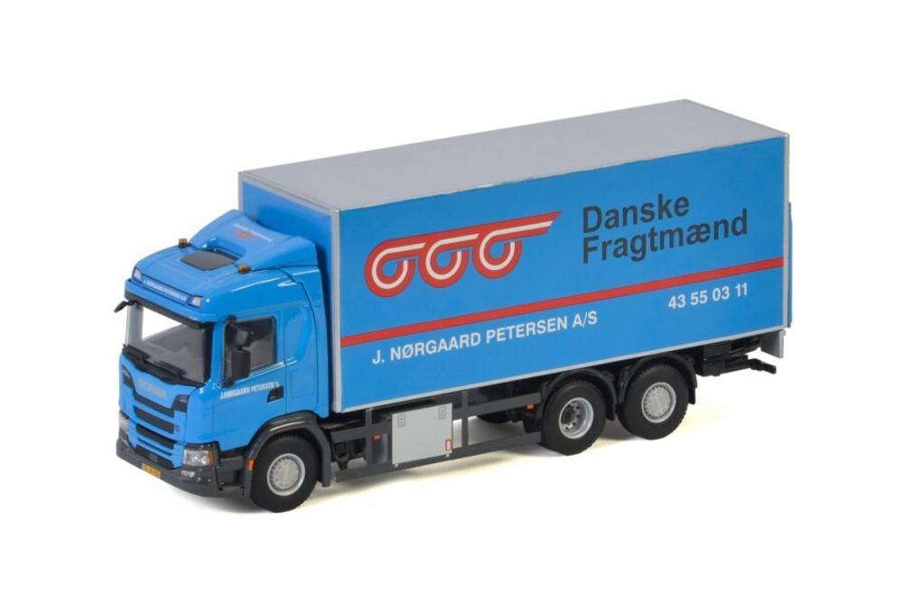 Scania G Normal CG17N  Riged Box   J. Norgaard Petersen