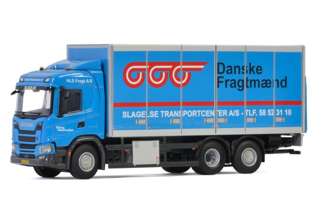 Scania G Normal CG17N  Riged Box  HLS Fragt