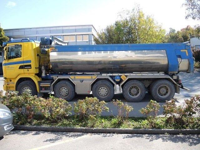 Scania G-Serie  Asphaltkipper De Paola