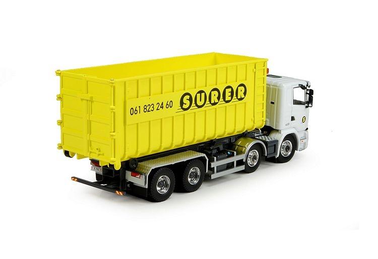 Scania G serie haakarmsysteem Surer