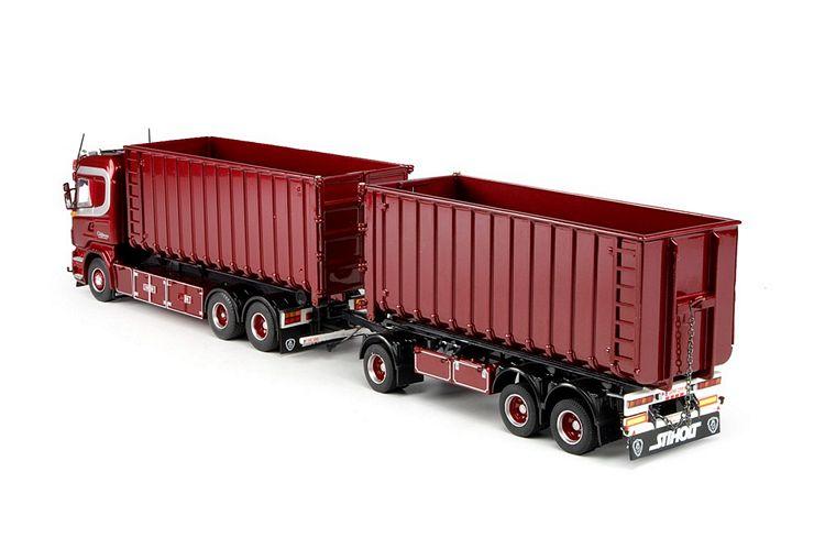 Scania G serie Highline Hakenarm Container Gagelmans