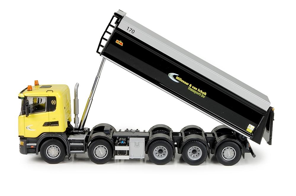 Scania G serie Kipper 5 Achse Millenaar