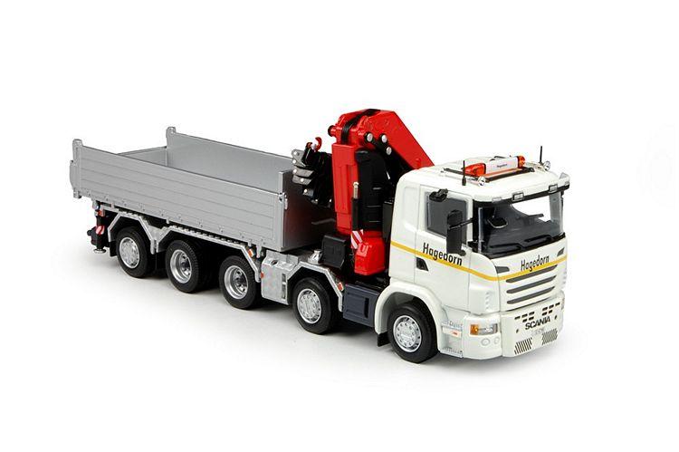 Scania G serie Kipper  Fassi Kran Hagedorn