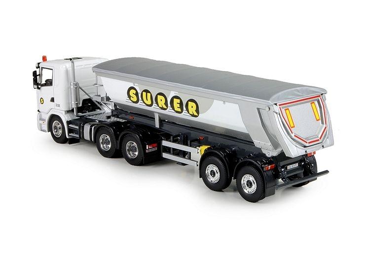 Scania G serie  Meiller kipper Surer