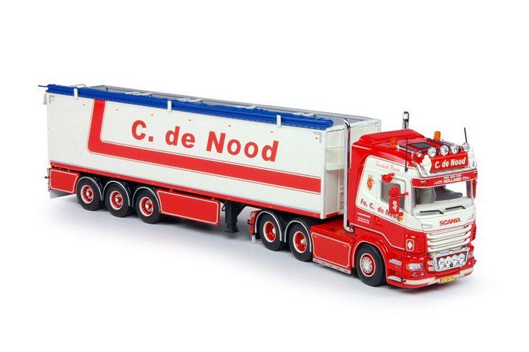 Scania Highline 6x2 Nachlaufachse mit Auflieger C De Nood