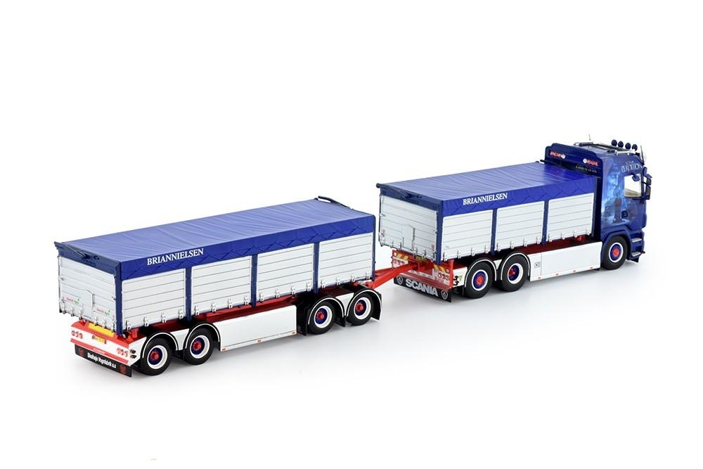 Scania Highline Motorwagen anhanger Nielsen Brian