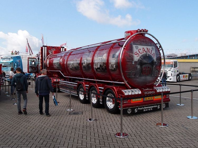 SCANIA History trailer - for Tekno Model number 64076
