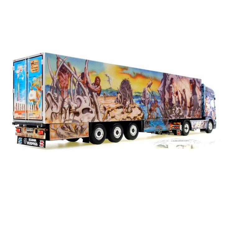 Scania Kühlkoffer -Herpa Weltgeschichte Nr.1-