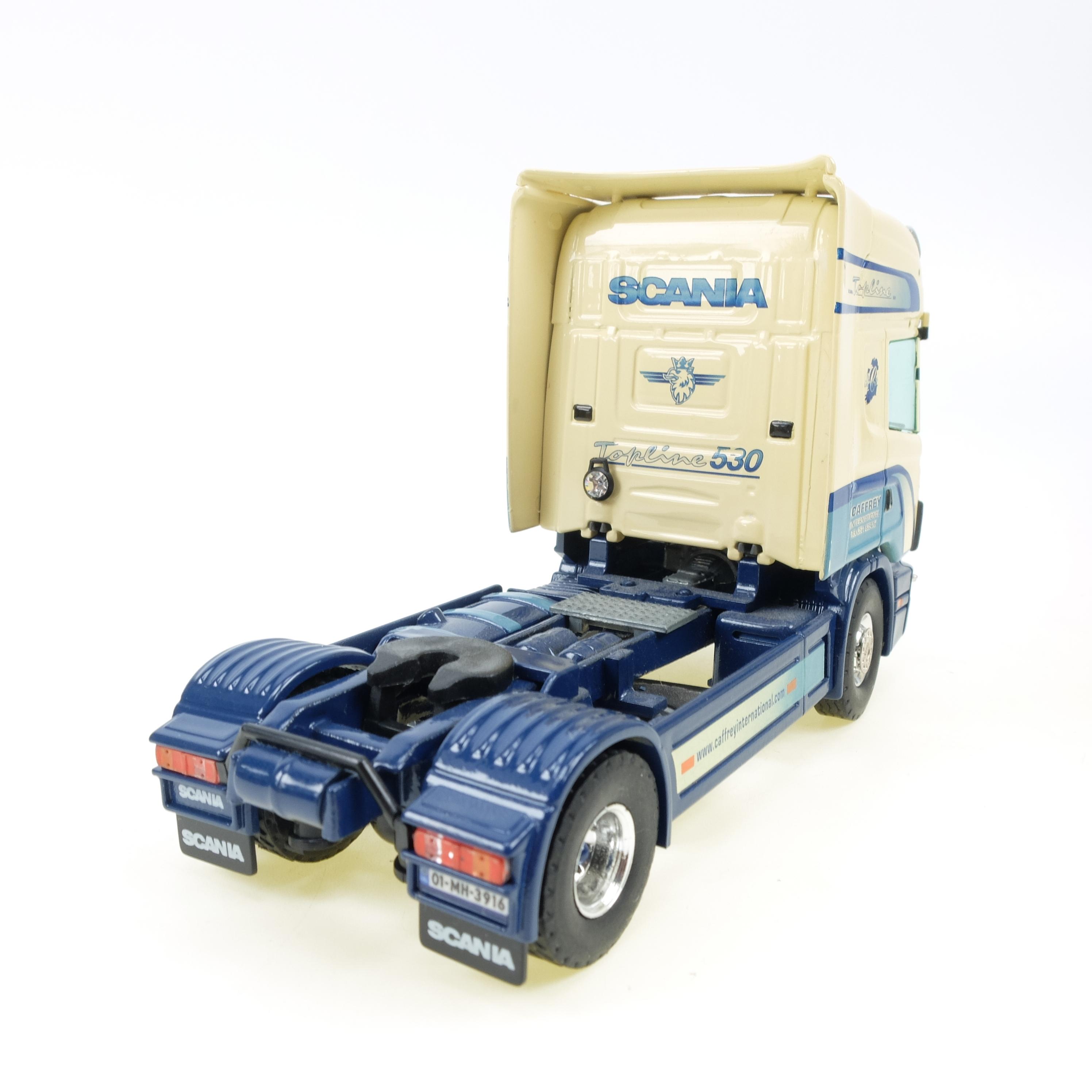 Scania kuehlauflieger Cafferey International