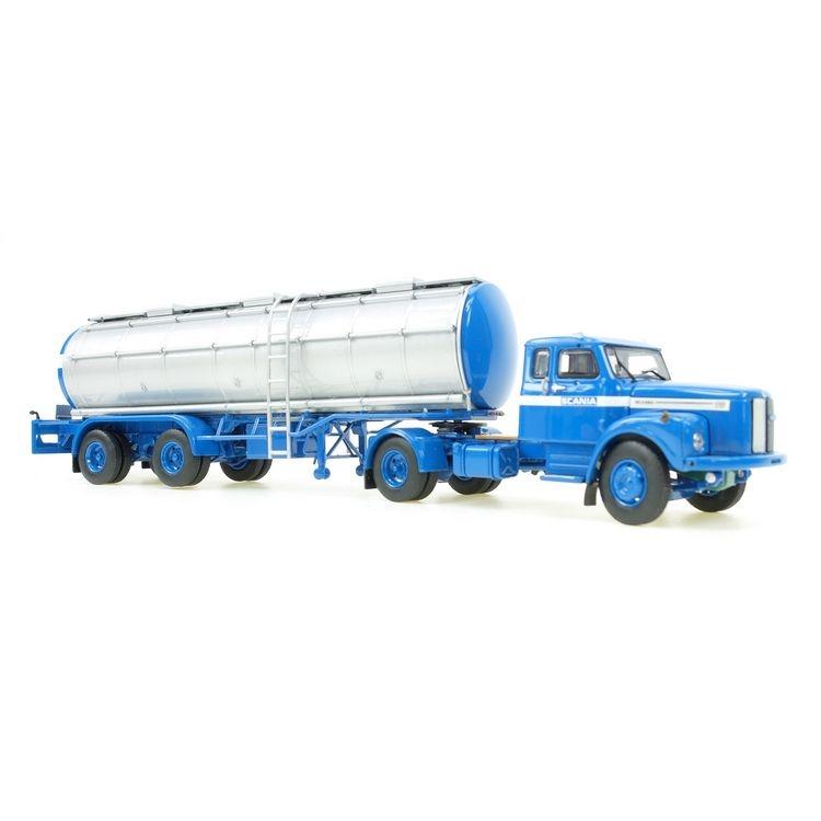 Scania L 110 mit Tanksattelauflieger