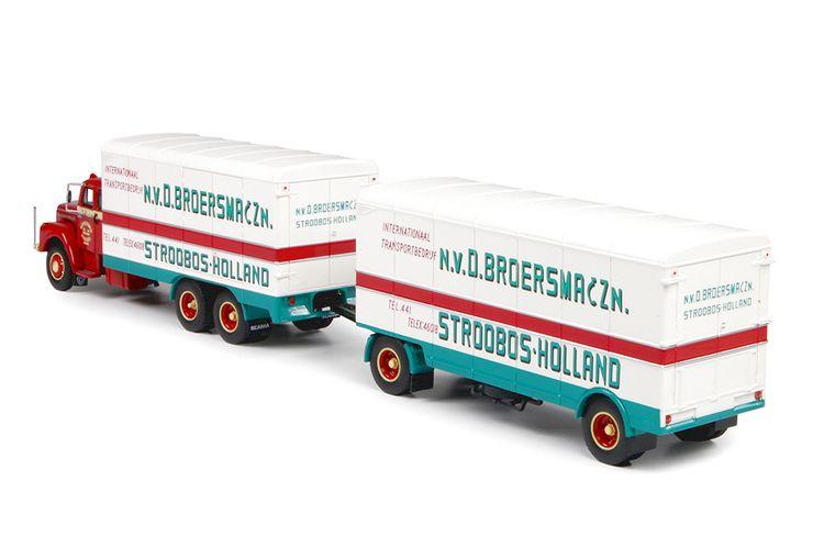 Scania L Bege rigid truck  Broersma & Zn