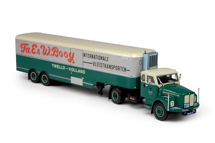 Scania L Bege schlafkabine Klassik Booy
