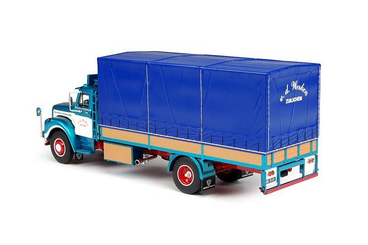 Scania L Bege Schlafkabine Werken G. van de