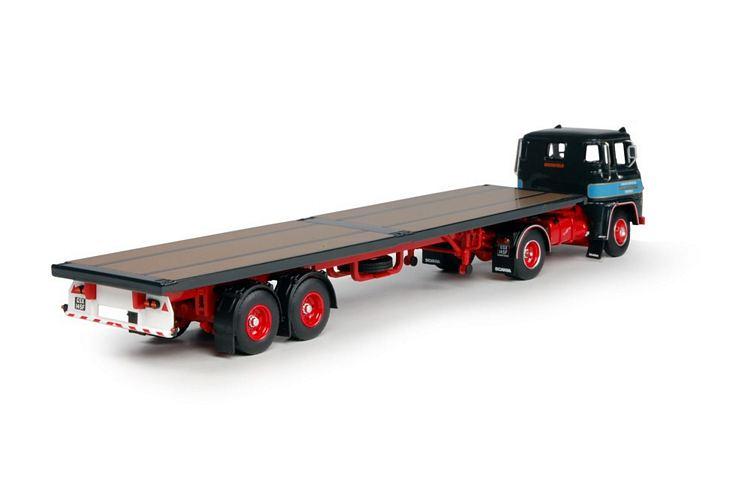 Scania LB76  Klassik Flatbed  Malcolm W.H.