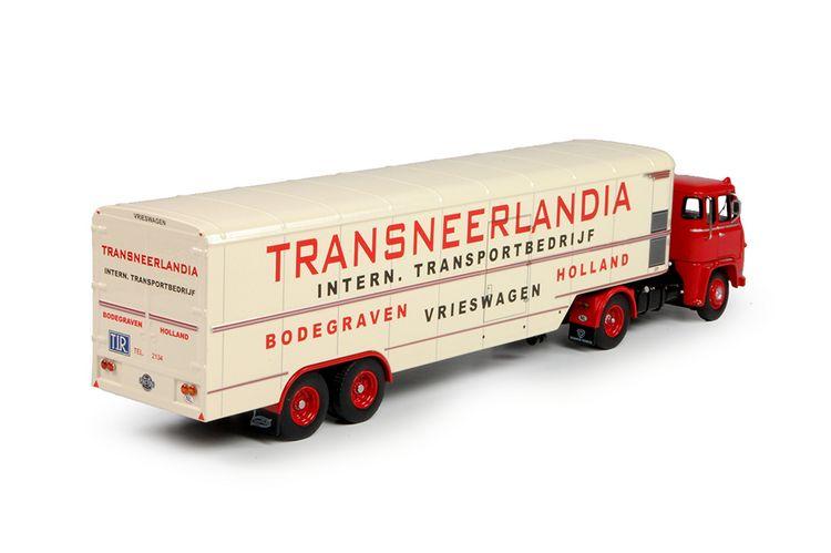 Scania LB76  klassik steptrailer Transneerlandia
