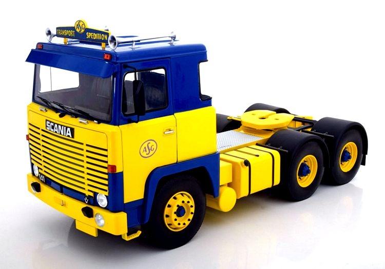 Scania Lbt 141 Truck Asg 3-assi 1976 1:18