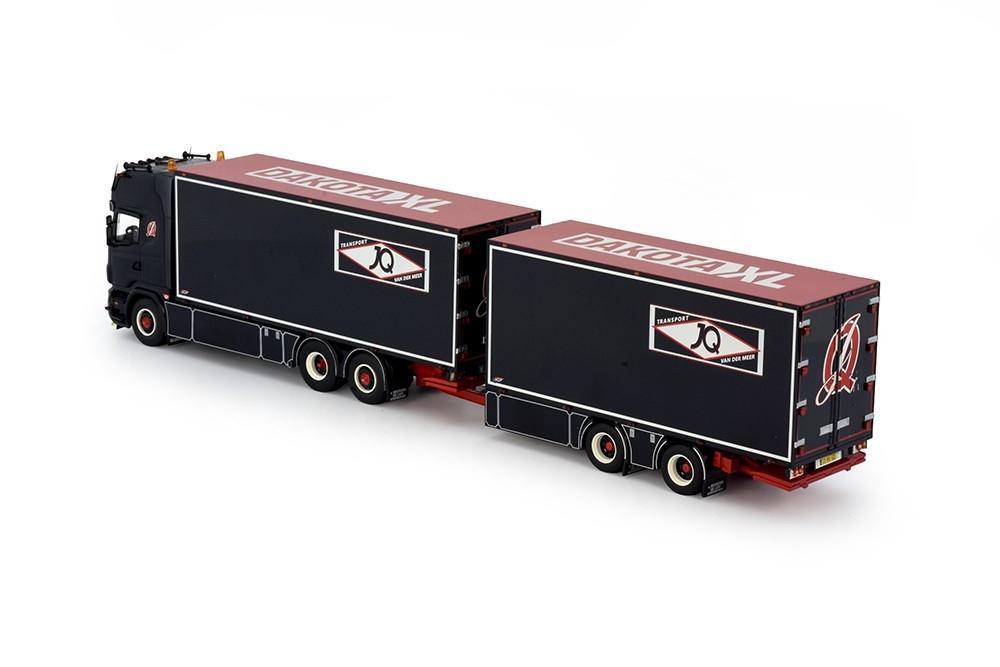 Scania LKW Combi Anhänger Meer, J.Q. van der