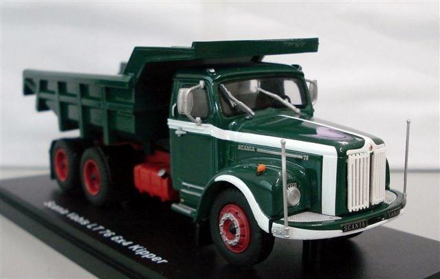Scania LT76 6x4  grün rot