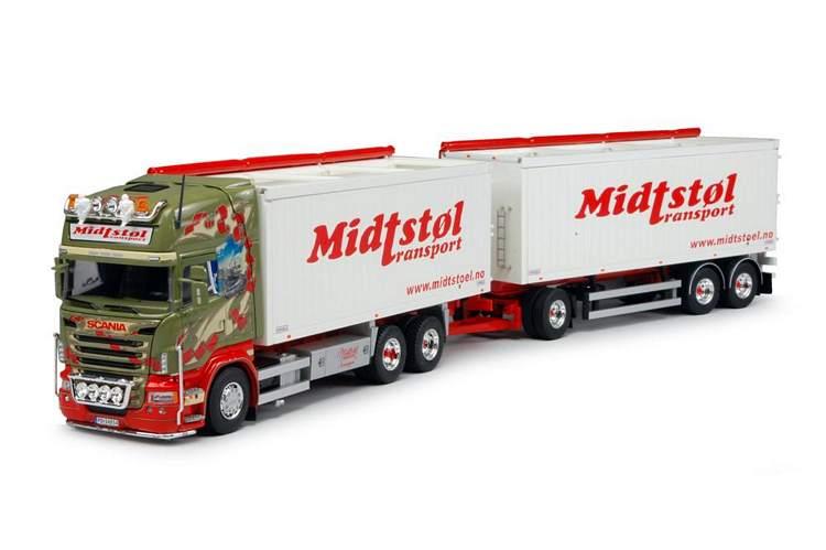 Scania neue R-Serie Topline combi Midstol