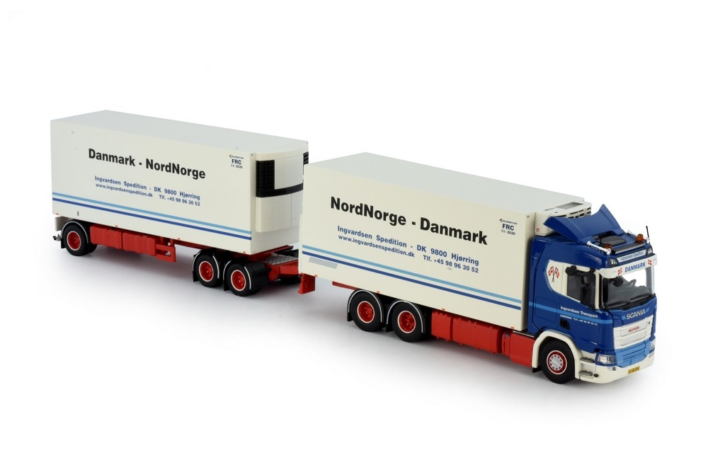 Scania Next Gen R-Serie kombi Ingvardsen Spedition