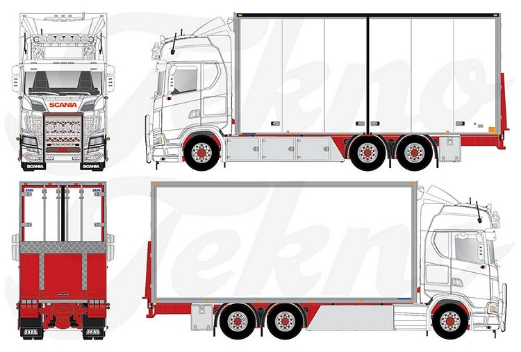 Scania Next Gen S-Serie Highline Schwedisches LKW