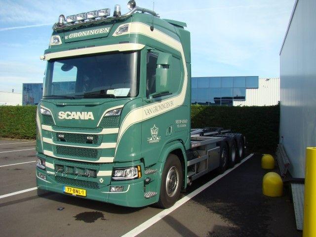 Scania NGS R-Serie  Hakenarmkombination Groningen Van