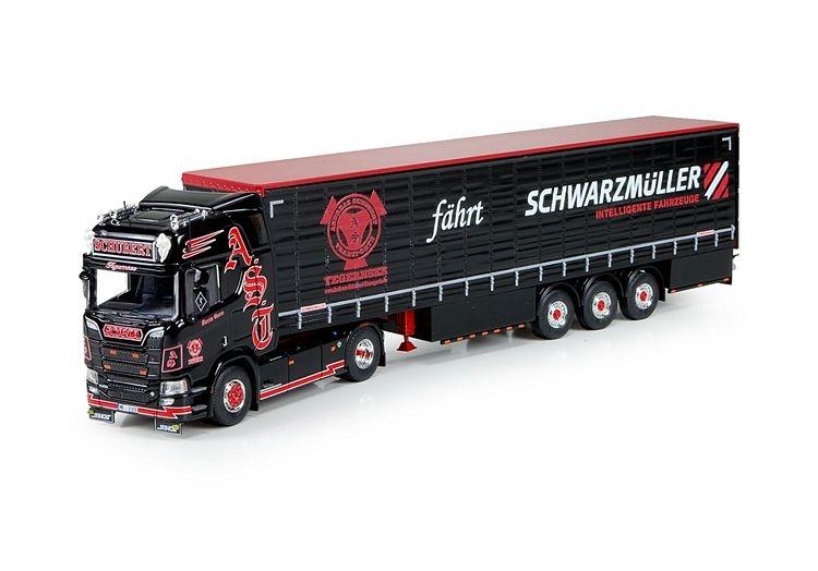 Scania NGS R-serie Highline 3 Achse Schiebeplanen Auflieger Schu