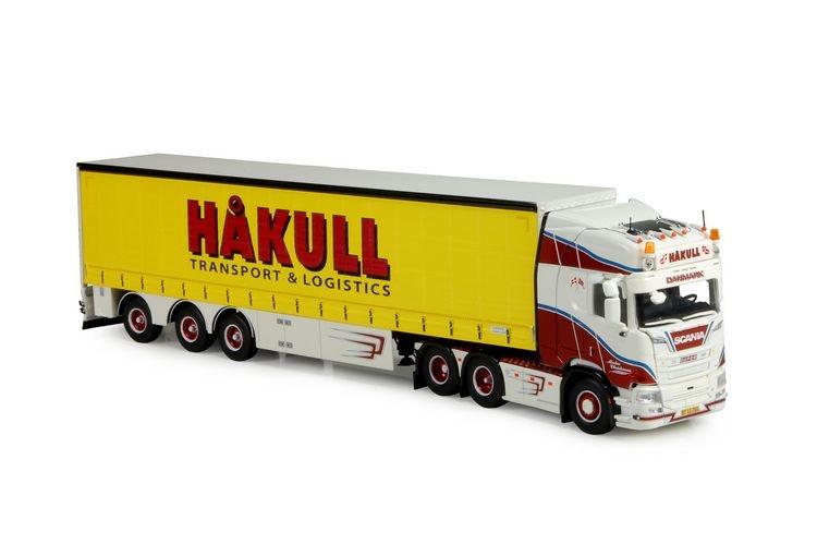 Scania NGS R-serie Highline curtainside  Christensen Hakull