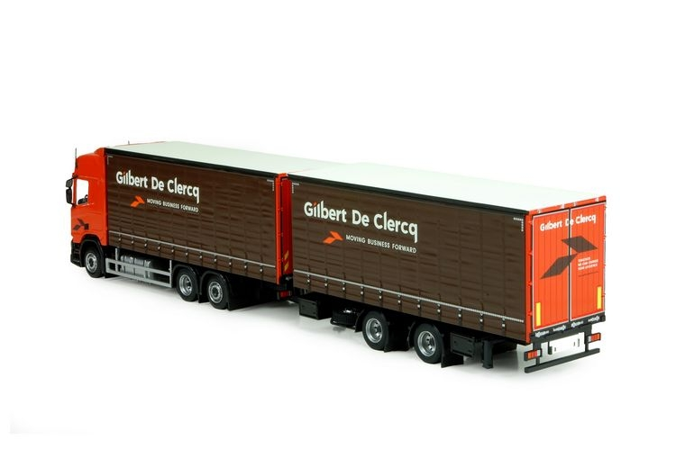 Scania NGS R-Serie Highline Curtainsider Clercq Gilbert de