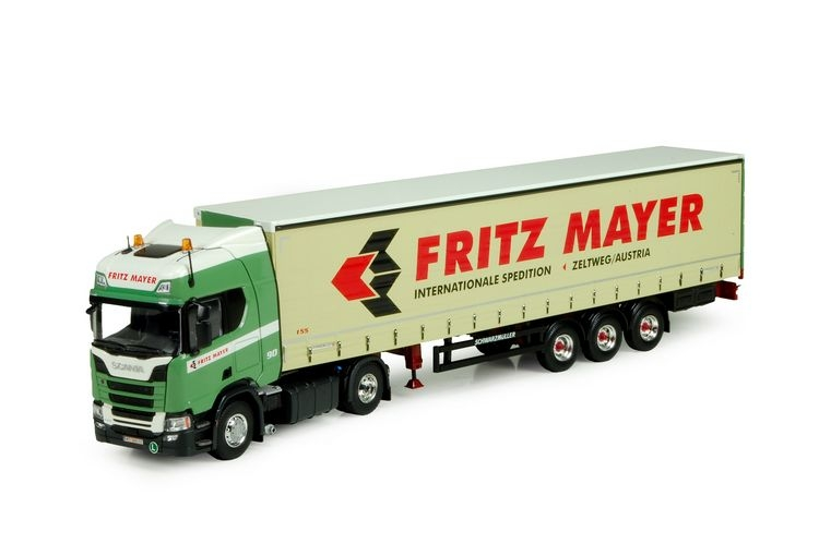 Scania NGS R-Serie Highline  Plane Anhaenger Fritz Mayer