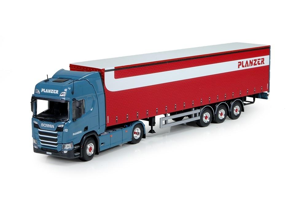 Scania NGS R Serie Highline Schiebeplanauflieger Planzer