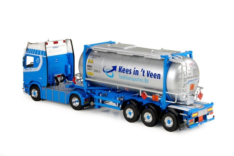 Scania NGS R-serie Swaptankcontainer Veen Kees Int