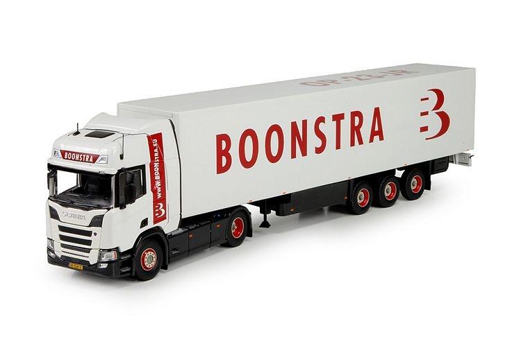 Scania NGS R410  geschlossen auflieger Boonstra