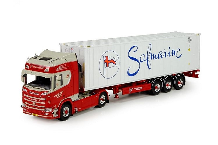 Scania NGS R520 flexitrailer reefer Windt van der