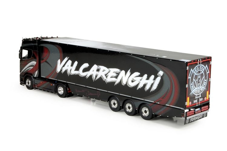 Scania NGS S Serie Kuehllauflieger Valcarenghi