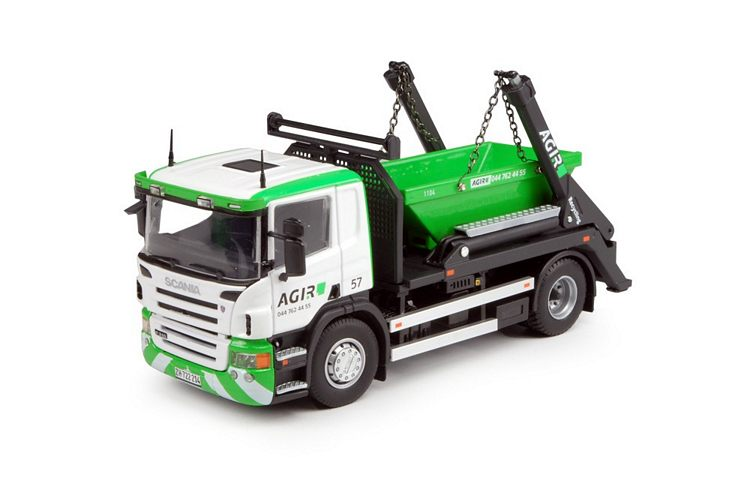 Scania P serie Absetzkipper Agir
