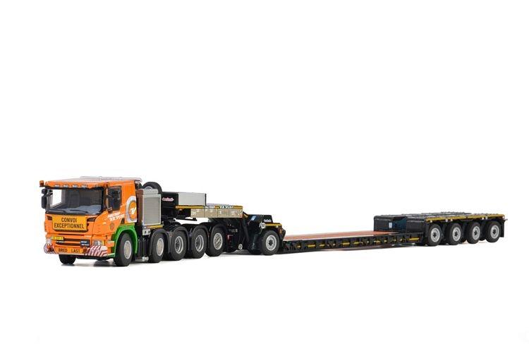 Scania P6 Flat Roof Lowloader   Holtrop v.d. Vilst