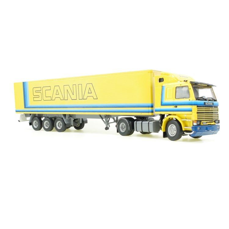Scania R 142M 4x2  Kastensattelauflieger